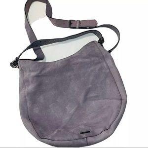 Rebecca Minkoff  Medium Zip Leather Hobo Handbag